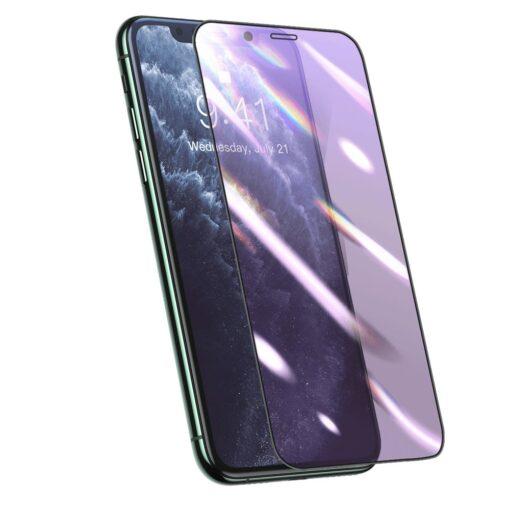 iPhone XS X kaitseklaas sinise valguse kaitsega anti-blue