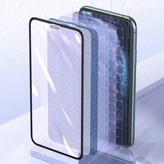 iPhone XS X kaitseklaas sinise valguse kaitsega anti blue 14