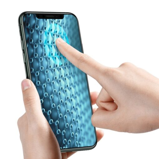 iPhone XS kaitseklaa täisekraan 3D ekraanikaitse 3
