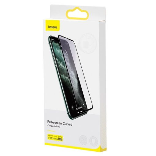 iPhone XS kaitseklaa täisekraan 3D ekraanikaitse 5