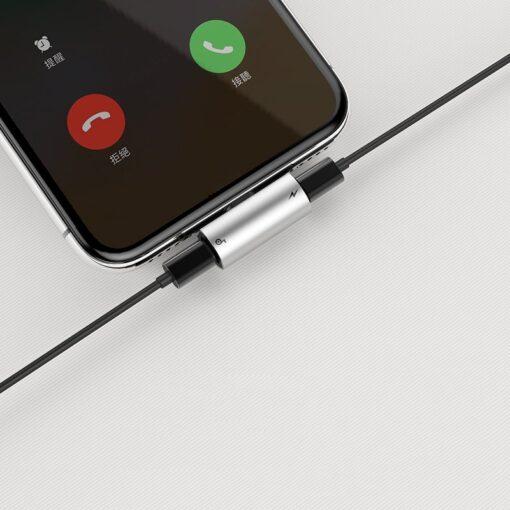 iPhone kõrvaklappide adapter lightning to lightning 2x 13