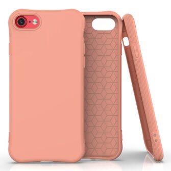 iphone SE 2 silikoonist ümbris sobib iPhone 7 ja iPhone 8 oranz
