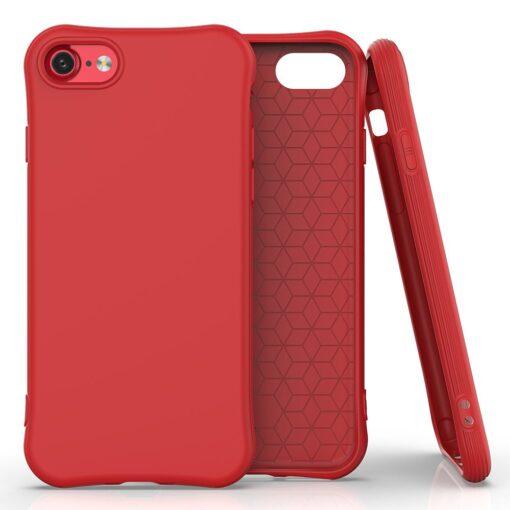 iphone SE 2 silikoonist ümbris sobib iPhone 7 ja iPhone 8 punane