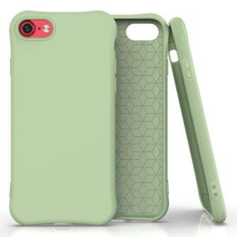 iphone SE 2 silikoonist ümbris sobib iPhone 7 ja iPhone 8 roheline