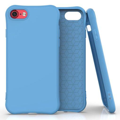 iphone SE 2 silikoonist ümbris sobib iPhone 7 ja iPhone 8 sinine