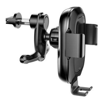 Baseus Nutikas autohoidik koos juhtmevaba Qi laadijaga ja infrapuna sensoriga must 3
