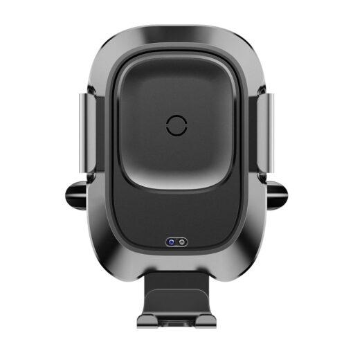 Baseus Nutikas autohoidik koos juhtmevaba Qi laadijaga ja infrapuna sensoriga must 8