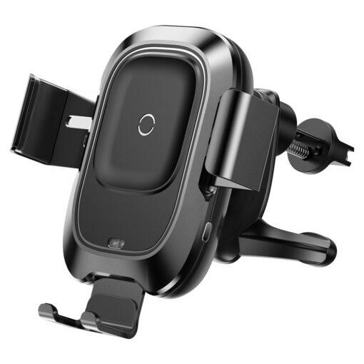 Baseus Nutikas autohoidik koos juhtmevaba Qi laadijaga ja infrapuna sensoriga must 9