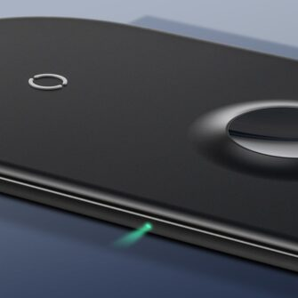 Baseus juhtmevaba laadija 3in1 Qi iphone apple watch ja airpodsidele valge 14
