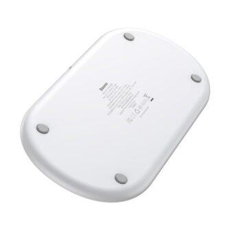 Baseus juhtmevaba laadija 3in1 Qi iphone apple watch ja airpodsidele valge 4