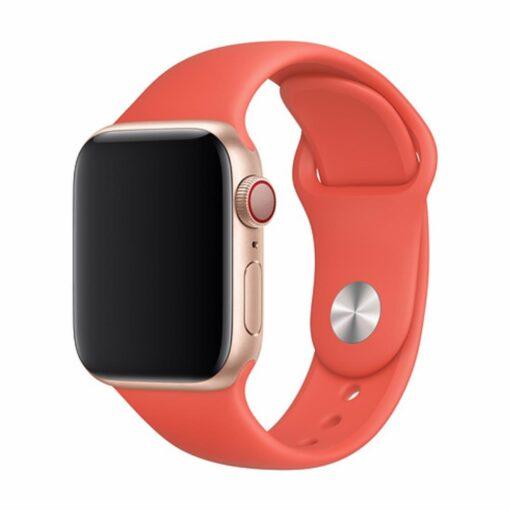 Devia rihm Deluxe Sport Apple Watchile 40mm 38mm nektariin