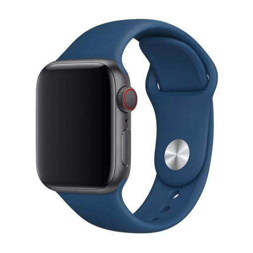 Devia rihm Deluxe Sport Apple Watchile 40mm 38mm sinine horisont