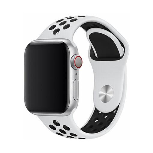 Devia rihm Deluxe Sport2 Apple Watchile 44mm 42mm valge