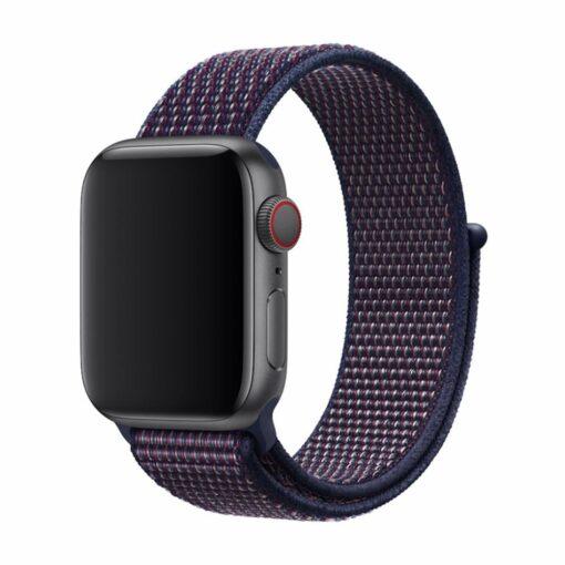 Devia rihm Deluxe Sport3 Apple Watchile 44mm 42mm indigo
