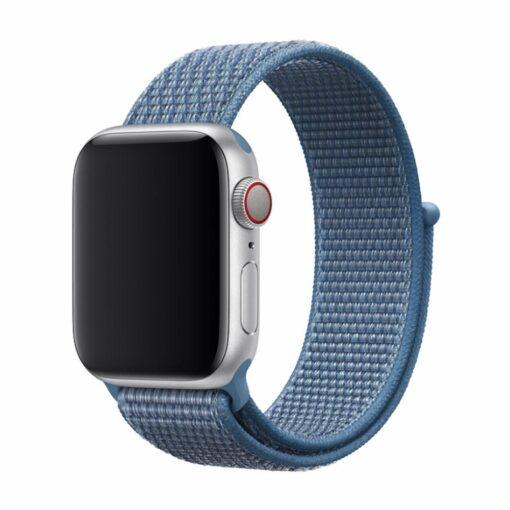 Devia rihm Deluxe Sport3 Apple Watchile 44mm 42mm sinine