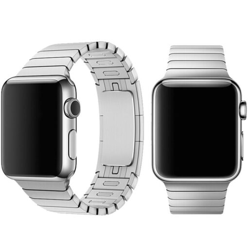 Devia rihm Elegant Link Apple Watchile 44mm 42mm hõbe