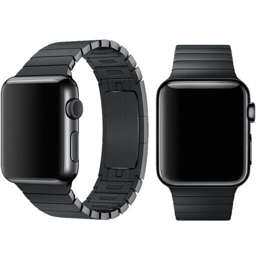 Devia rihm Elegant Link Apple Watchile 44mm 42mm space black