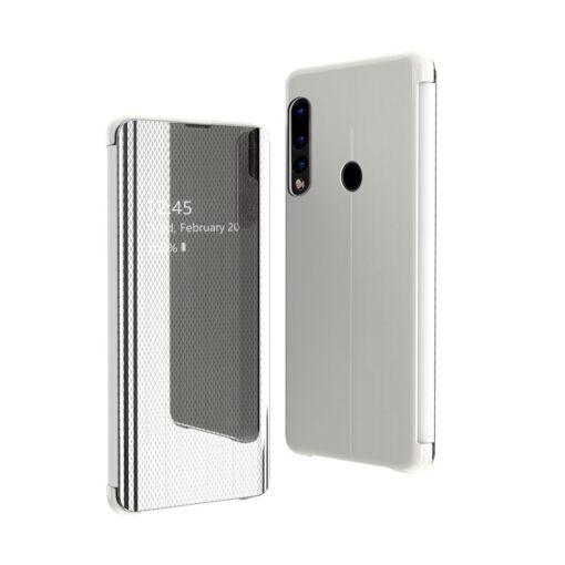 Huawei P30 Lite Flip View klapiga kaaned hõbedased