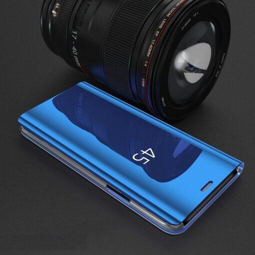 Huawei P30 Lite clear view kaaned plastikust hõbedased 1