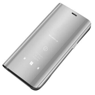 Huawei P30 Lite clear view kaaned plastikust hõbedased