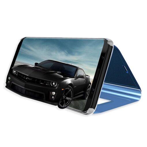 Huawei P30 Lite clear view kaaned plastikust hõbedased 4