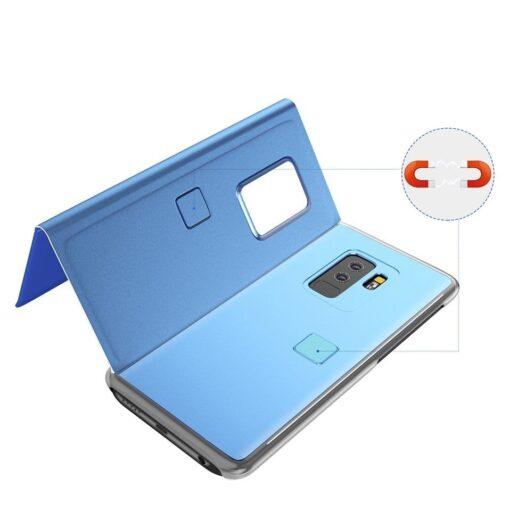 Huawei P30 Lite clear view kaaned plastikust hõbedased 5