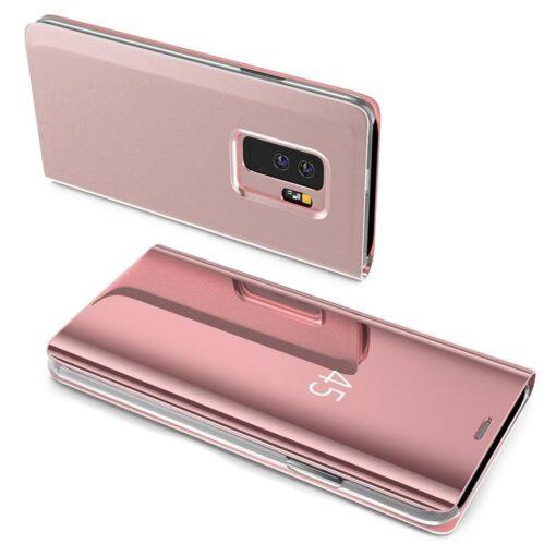 Huawei P30 Lite clear view kaaned roosat värvi plastikust 1