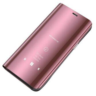 Huawei P30 Lite clear view kaaned roosat värvi plastikust