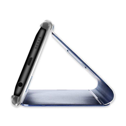 Huawei P30 Lite clearview kaaned plastikust ja musta värvi 6