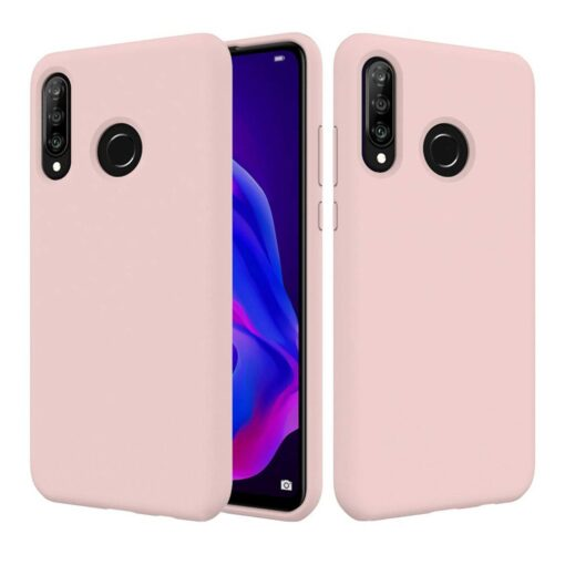 Huawei P30 Lite kaaned pehmest silikoonist roosa 2