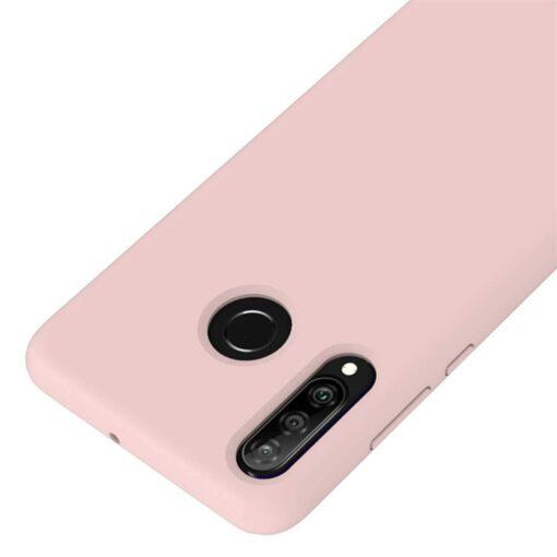 Huawei P30 Lite kaaned pehmest silikoonist roosa 3
