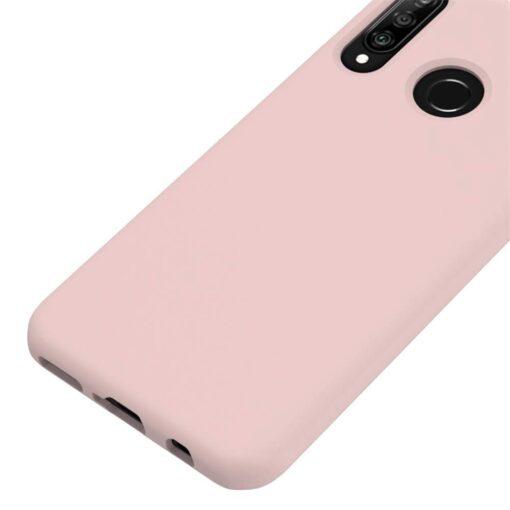 Huawei P30 Lite kaaned pehmest silikoonist roosa 4