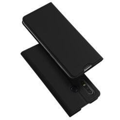 Huawei P30 Lite kunstnahast kaaned kaarditaskuga