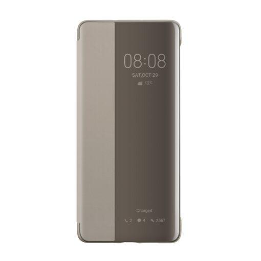 Huawei P30 kaaned koos nutika aknaga khaki 2