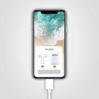 Juhtmega kõrvaklapid lightning iPhone 4