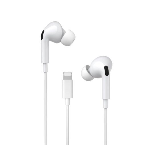 Juhtmega kõrvaklapid lightning iPhonele