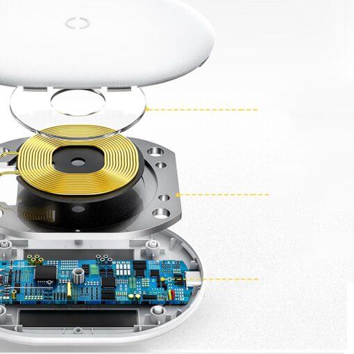 Juhtmevaba Qi laadija 15W Baseus Cobble USB C Valge 14