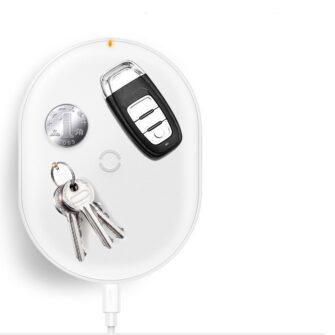 Juhtmevaba Qi laadija 15W Baseus Cobble USB C Valge 16