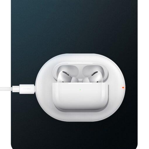Juhtmevaba Qi laadija 15W Baseus Cobble USB C Valge 20