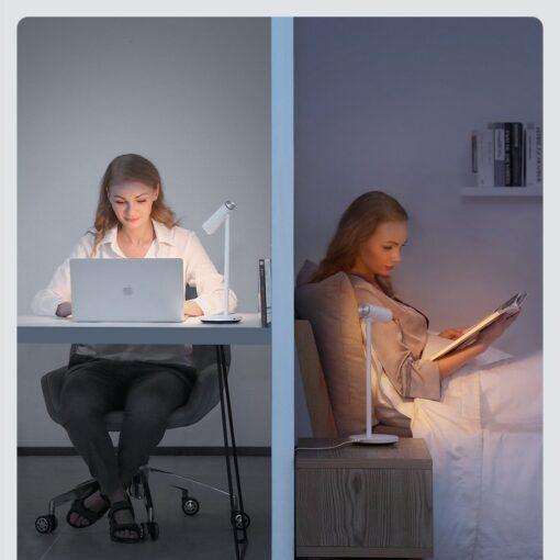 Laualamp kontorisse LED juhtmevaba valge 17