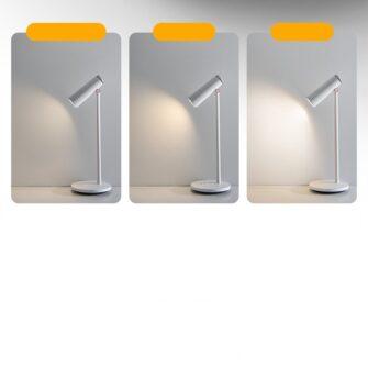 Laualamp kontorisse LED juhtmevaba valge 19