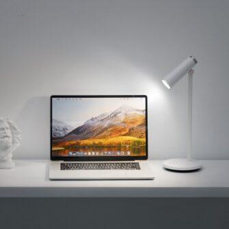 Laualamp kontorisse LED juhtmevaba valge 7