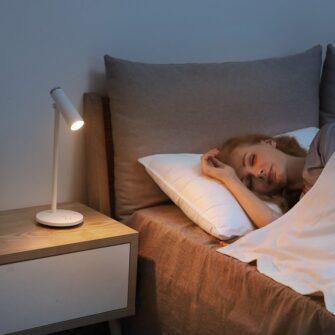 Laualamp kontorisse LED juhtmevaba valge 8