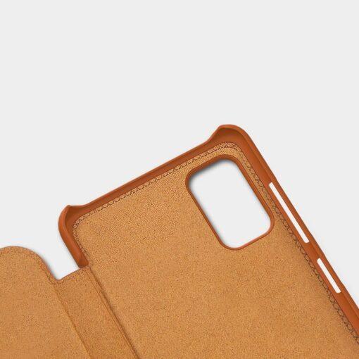 Nillkin Qin nahast kaaned Samsung Galaxy A41 mudelile 7