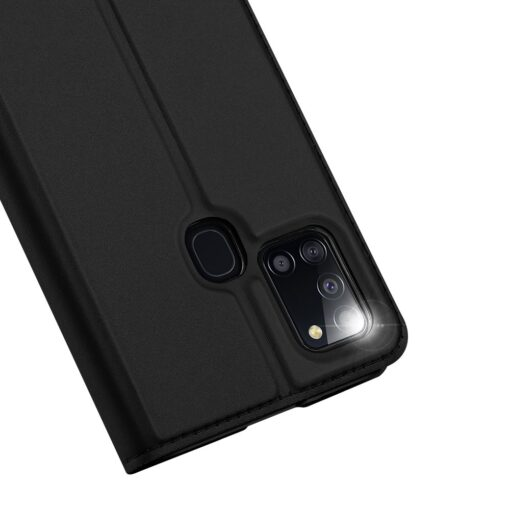Samsung A21S kaaned klapiga musta värvi dux ducis 4