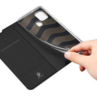 Samsung A21S kaaned klapiga musta värvi dux ducis 9