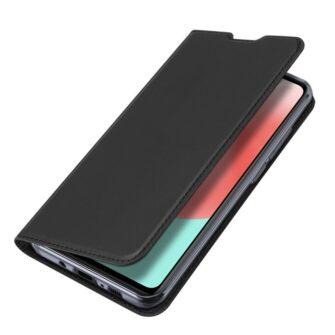 Samsung A41 kaarditaskuga kaaned musta värvi kunstnahast DUX DUCIS 5