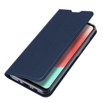 Samsung A41 kaarditaskuga kaaned sinist värvi kunstnahast DUX DUCIS 4