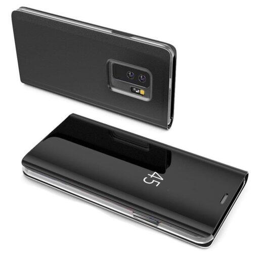 Samsung A41 klapiga kaaned plastikust musta värvi 4