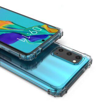 Samsung A41 läbipaistvast silikoonist tugevdatud nurkadega põrutuskindel ümbris 7